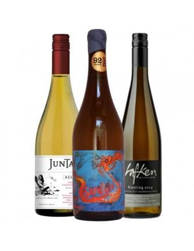 Pack 6 vinos, Momentos Viog SB, Lafken Riesling, Escandalo Semillon