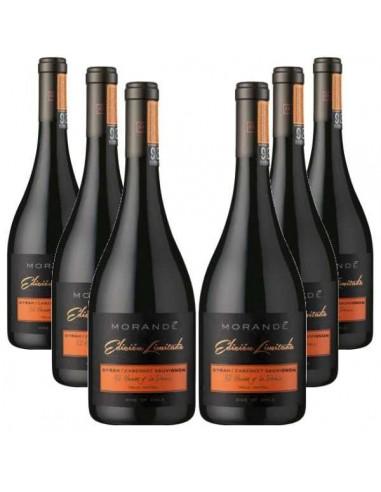 6 x Morande Limited edition Syrah- Cabernet Sauvignon