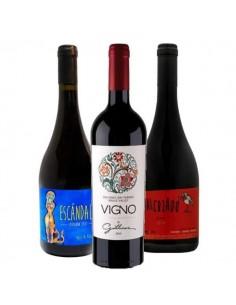 Pack 6 vinos, Escandalo Carignan Itata, Gillmore Vigno, Malcriado Blend