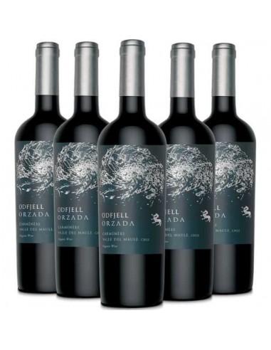 6 x Orzada Carmenere, Vinos Odfjell